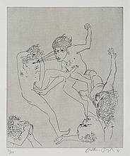 ARTHUR BOYD (1920-1999) 18th Century Story 1971 etching edition 31/50
