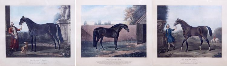 JOHN WOOTTON (English, c.1682-1765) (LOCATION SYDNEY OFFICE - all enquiries phone 02 9362 9045) The Byerley Turk; The Darley Arabian...
