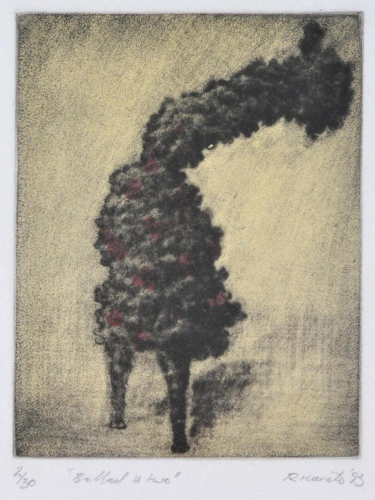 GEOFFREY RICARDO (born 1964) Ballad Two 1993 etching 2/30