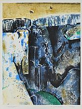 FRED WILLIAMS (1927-1982) Waterfall lithograph edition 37/100