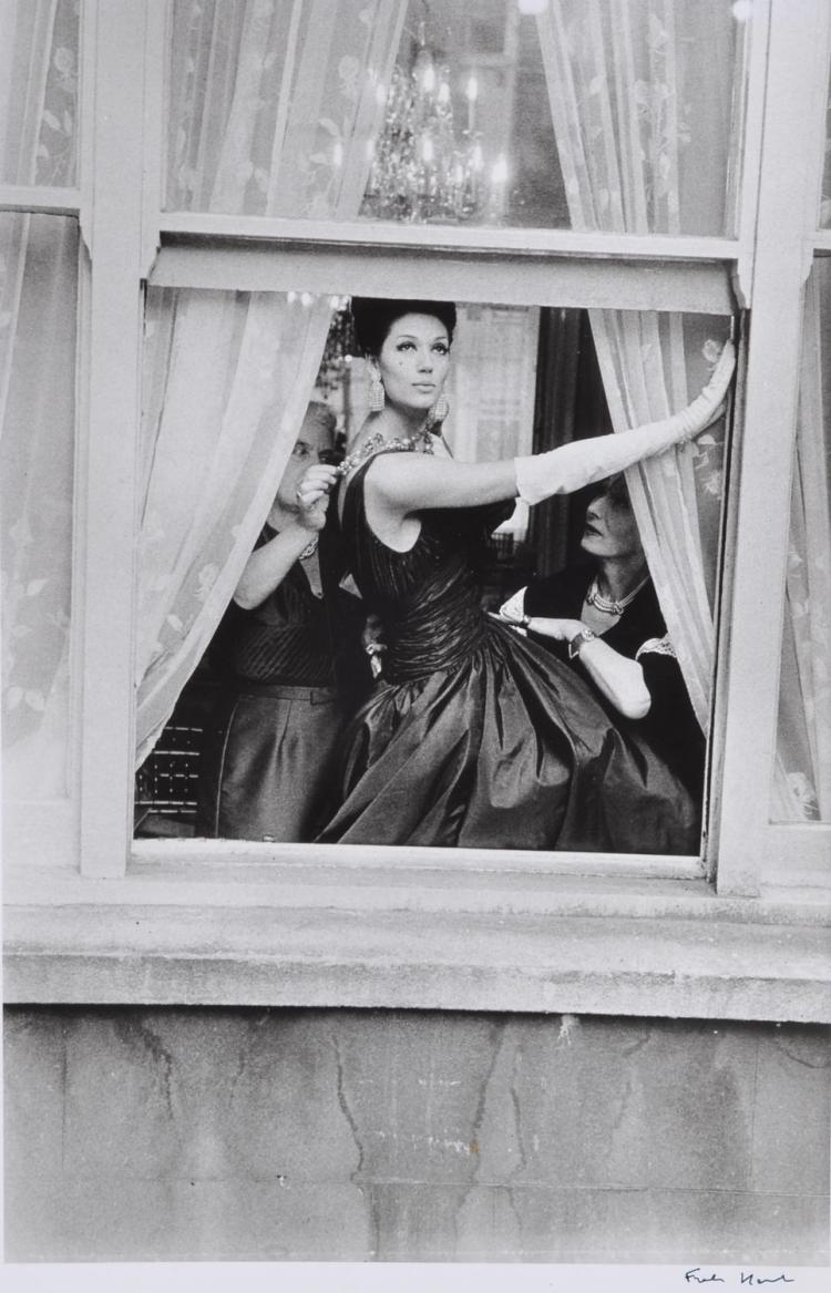 FRANK HORVAT (born 1928) Model In Window 1961 (for British Vogue) silver gelatin print