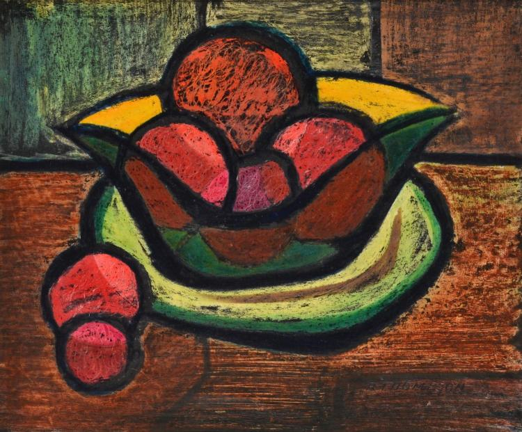 ROMA THOMPSON (1919-) Still Life monotype