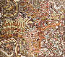 ADA BIRD PETYARRE (CIRCA 1930-2009) Untitled acrylic on canvas