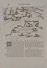 17TH CENTURY MAP OF PAPUA NEW GUINEA