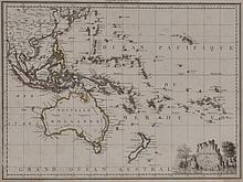EARLY 19TH CENTURY MAP OF OCEANIA