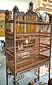 IRON BIRD CAGE ON STAND 215 x 101 x 41cm