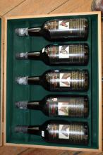 ONE BOX OF YALSUMBA VINTAGE PORT: MELBOURNE CUP WINNERS' 1980-1986 (X5)