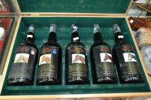 ONE BOX OF YALSUMBA VINTAGE PORT: MELBOURNE CUP WINNERS' 1981-1985 (X5)