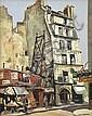 WILL ASHTON (1881-1963) Hotel du Midi oil on canvas on board