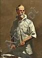W. B MCINNES (1889-1939) Portrait of Dr Julian Smith oil on canvas