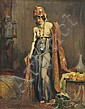 CHARLES WHEELER (1881-1977) Woman in Middle Eastern Costume oil on canvas