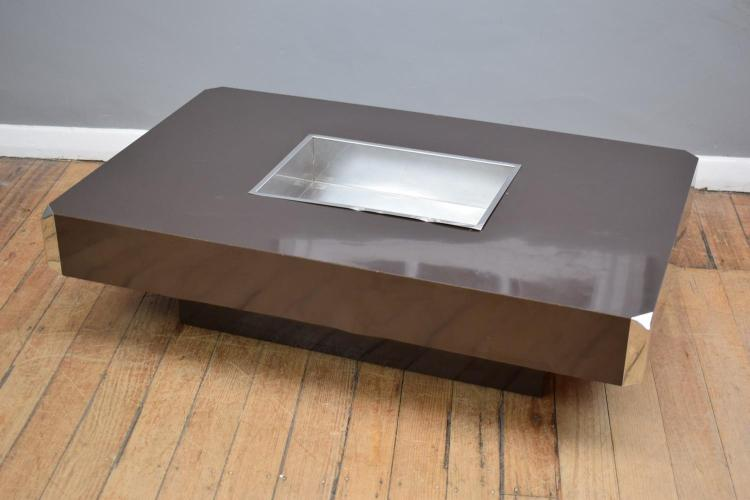 AN ITALIAN 'WILLY RIZZO' COFFEE TABLE
