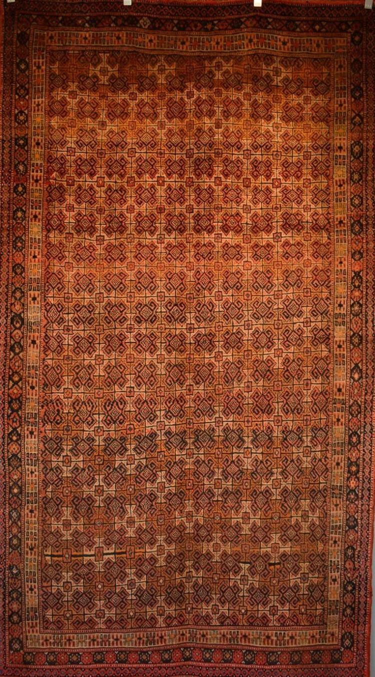 A VINTAGE GHOOGAN RUG FROM IRAN CIRCA 1960's - PRISTINE CONDITION- VERY RARE - ORIGIN IRAN 285 X 165 CM RRP $3600