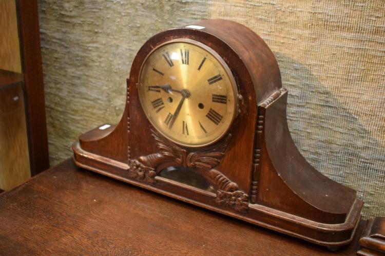 A ART NOVEAU GERMAN MANTLE CLOCK