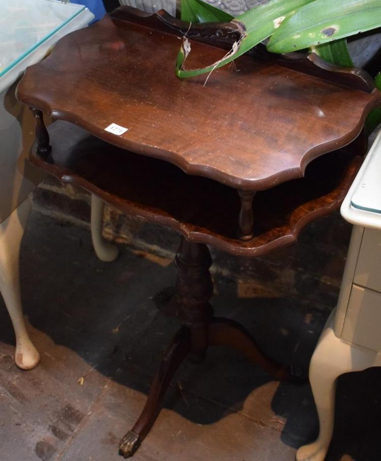 A REGENCY STYLE SIDE TABLE