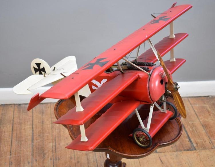 A MODEL FOKKER AEROPLANE