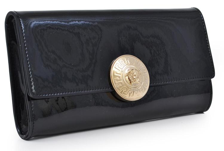 AN EVENING BAG BY VERSACE