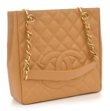 A PETITE SHOPPING TOTE BY CHANEL