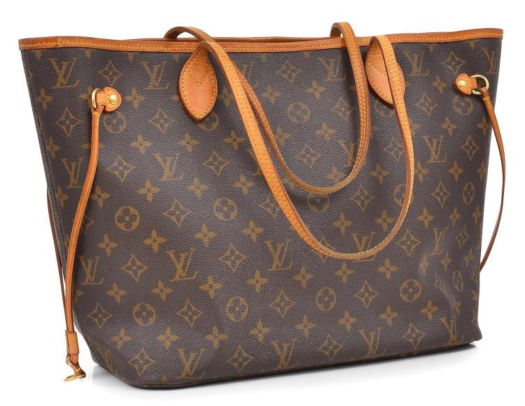 A NEVERFULL TOTE BY LOUIS VUITTON
