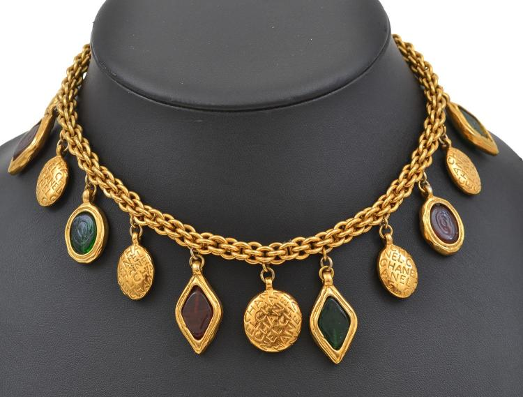 A NECKLACE BY CHANEL