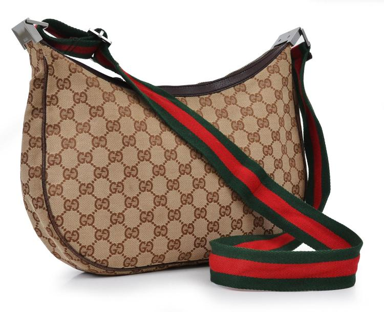 A HANDBAG BY GUCCI