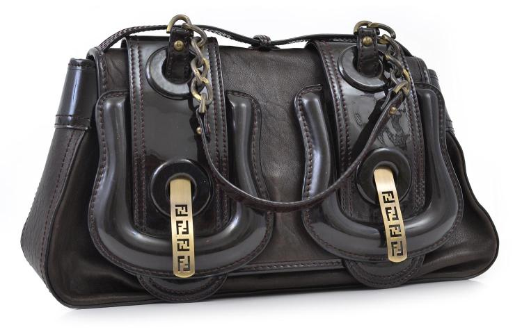 A HANDBAG BY FENDI