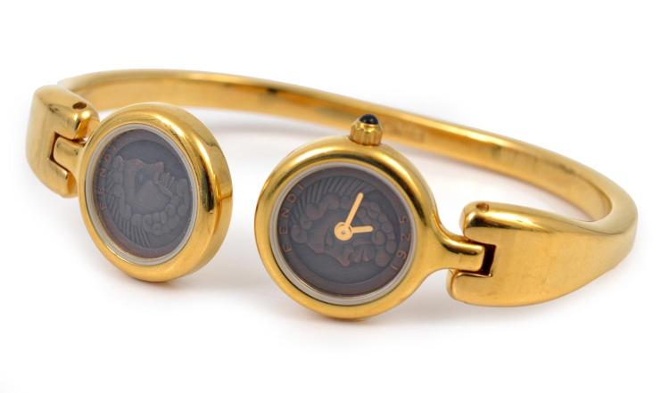 A BANGLE WATCH BY FENDI