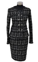 A TWO PIECE SUIT BY CHANEL