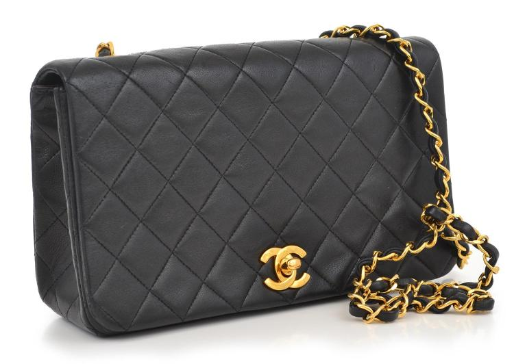 A HANDBAG BY CHANEL