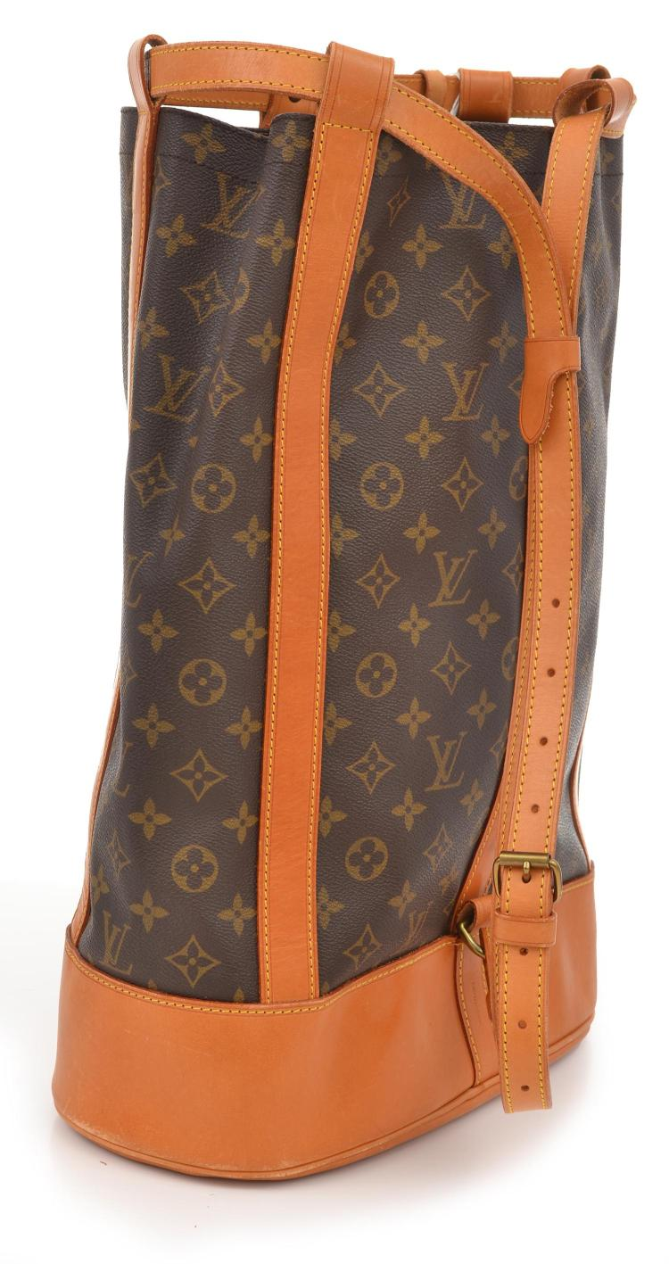 A RANDONNEE BACKPACK BY LOUIS VUITTON