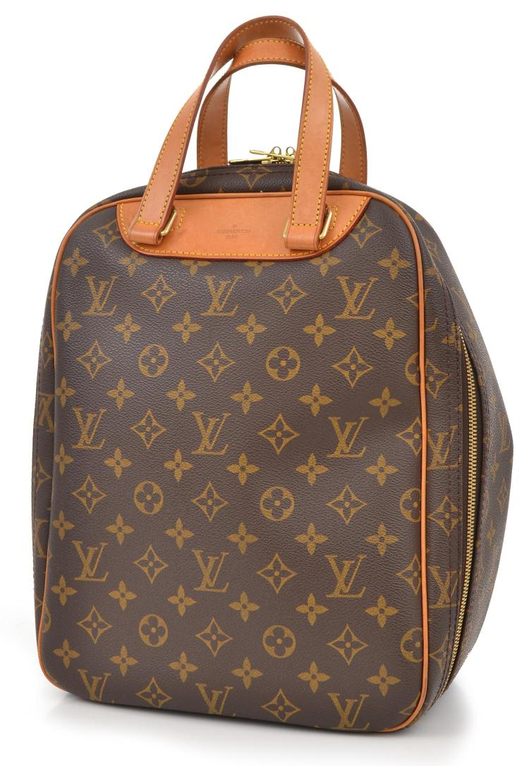 AN EXCURSION TRAVEL BAG BY LOUIS VUITTON