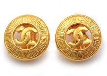 A PAIR OF EARINGS BY CHANEL