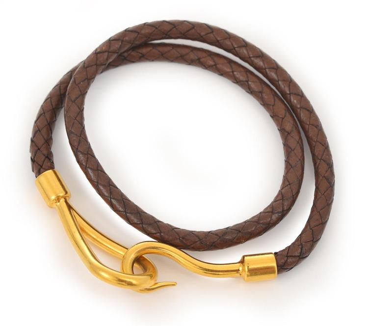 A DOUBLE TOUR JUMBO BRACELET BY HERMES