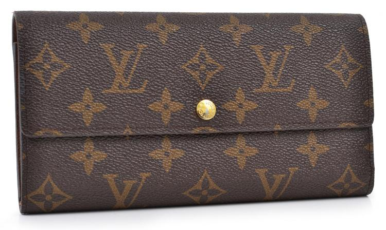A LONG WALLET BY LOUIS VUITTON