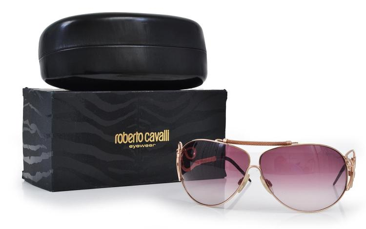 A PAIR OF SUNGLASSES BY ROBERTO CAVALLI