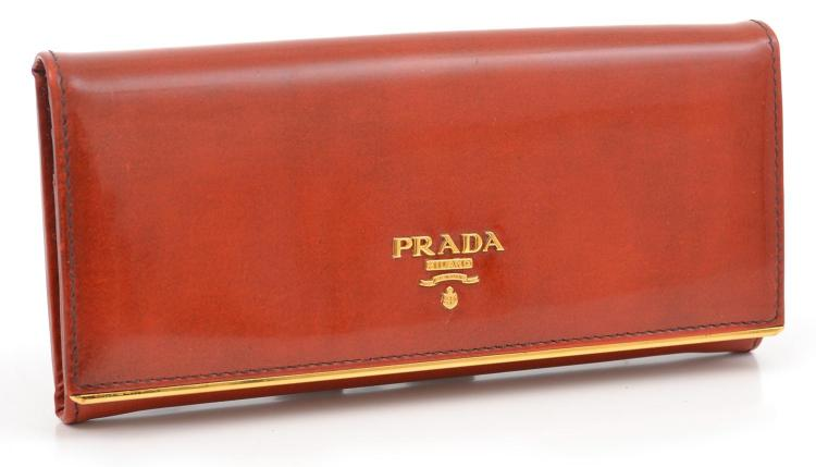 A WALLET BY PRADA