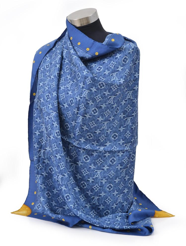 A SCARF BY LOUIS VUITTON