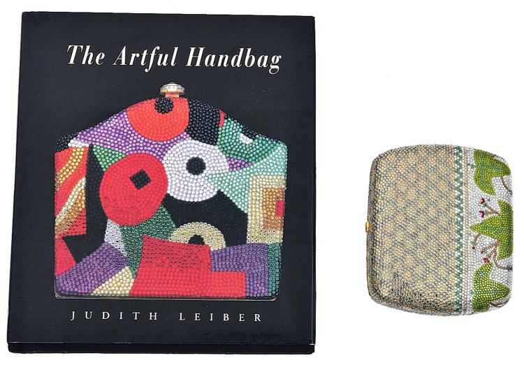 A MINAUDIERES EVENING BAG BY JUDITH LEIBER