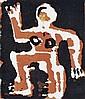 MARK SCHALLER (BORN 1962) Figure 1994 screenprint 2/6