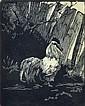 HELEN OGILVIE (1902-1993) The Emperor wood engraving 37/50