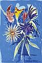 CHARLES BLACKMAN (BORN 1928) The Melbourne Cup Bouquet 1989 screenprint 15/90