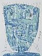 DAVID LARWILL (1956-2011) Blues 2005 etching 29/50