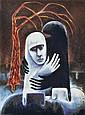 DAVID BOYD (1924-2011) Betrayal and the Red Tree screenprint 39/50