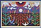 JOHN COBURN (1925-2006) Tree of Life 1988 screenprint 12/99