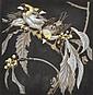 NORBERTINE VON BRESSLERN-ROTH (AUSTRIAN, 1891-1978) Weaver Birds linocut