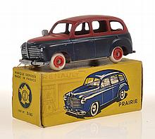 CIJ 3/43 PRAIRIE TAXI, TWO TONE, RED UPPER AND