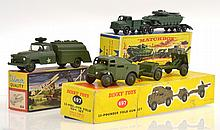 3 X MILITARY DIECAST MODELS INCLUDING DINKY 697 25