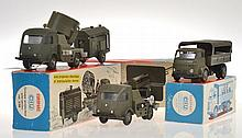 3 X CIJ MILITARY MODELS INCLUDING 3/96 GROUPE