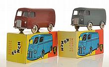 2 X PUNCH MODELS PEUGEOT D4.A, ONE GREY AND ONE