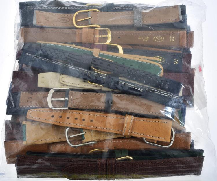 A BAG OF WATCH BANDS